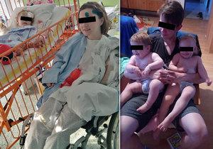 Táta Honzíka (2) a Emičky (3) zemřel při autonehodě: Máma Dana potřebuje pomoc