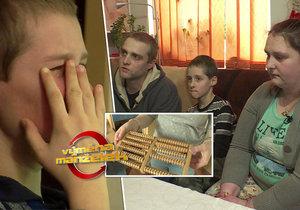 Výměna manželek: Týraný Ondra skončil v ústavu