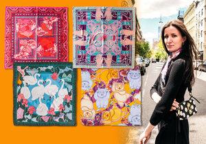 Svými nápaditými kreacemi si vydobývá Andrea v Anglii značné renomé. Přitom je její kariéra módní návrhářky prakticky na úplném začátku.