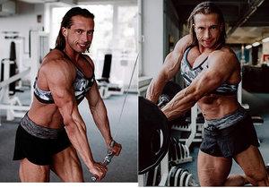 Kulturistka Věra Mikulcová otevřeně o dopingu: Vypadám jako chlap? Tomu se směju!