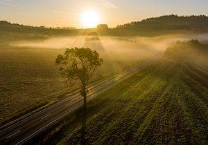 Podzimní počasí v Česku