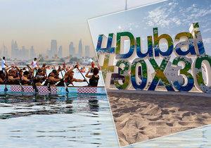 Dubaj na podzim nabídne sportování zdarma, jógu i ultramaraton
