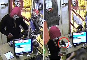 Přestrojil se za Smrt a vtrhl na benzinku: Policie hledá svědky!