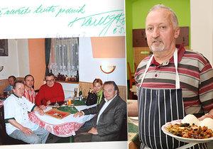 Šéfkuchař Vladimír Suchý (63): Karel Gott (†80) miloval pálivé. Bude mi chybět