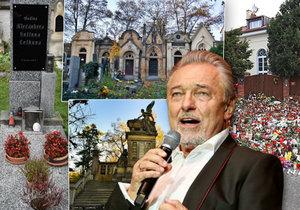 Kde bude pohřben Karel Gott?