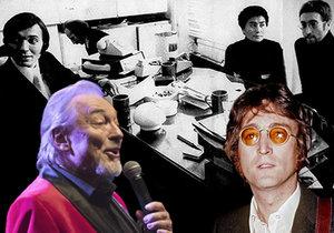 John Lennon chtěl za Gottem do Prahy!