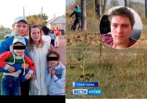 Darju a její děti našli zabetonované v lese: Z vraždy v rodinném kruhu doslova mrazí!