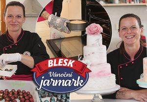 Michaela Fajmanová se těší, jak na Vánočním jarmarku Blesku v pražské Kotvě potěší zákazníky svým cukrářským uměním