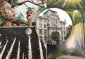Výstava Duše stromů vyplňuje celou dlouhou chodbu magistrátu hl. m. Prahy v přízemí. K vidění jsou kolikrát pozoruhodné výtvory, na nichž se z hlediska významu i estetiky prakticky stírají věkové rozdíly.