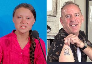 Slavný hudebník zakomponoval emotivní projev aktivistky Grety (16) do svého největšího hitu