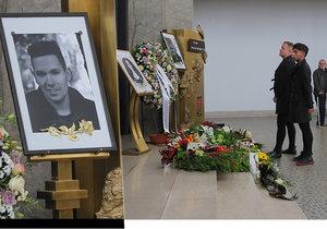 Pohřeb Jana Kratochvíla