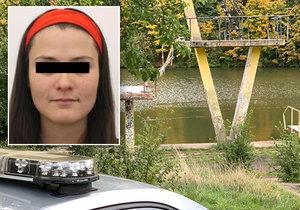 Pohřešovanou Katku našli mrtvou v pražském koupališti Džbán.