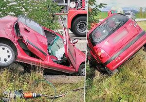 Tragická nehoda na Jičínsku: Senior narazil do betonového mostku