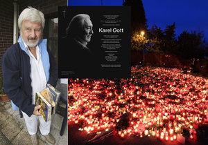 Podle Cimického je pro fanoušky smrt Karla Gotta bolestná.