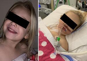 Čtyřletá Isla málem zemřela kvůli zákeřné bakterii.