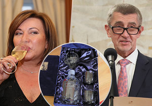 Ocenění odevzdali příslušným firmám premiér Andrej Babiš, ministryně Alena Schillerová a ministři Karel Havlíček a Richard Brabec (všichni ANO)