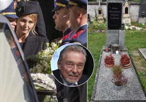 Karel Gott (†80) pořád nemá hrob: Urnu už má ale rodina!