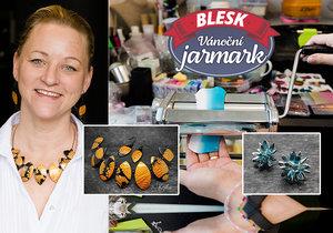 Petra Kejlová se na výrobu šperků vrhla na mateřské.