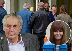 Prezidenta Miloše Zemana čeká pobyt v nemocnici, dostane opět infuze. Přemlouvala ho i rodina včetně dcery Kateřiny.