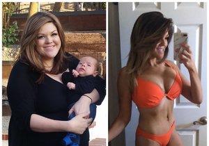 Melissu donutilo zhubnout až plánované těhotenství.