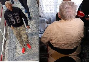 Pražská policie pátrá po zloději, který okradl nejméně dvě seniorky.