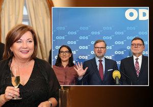 """ODS chce znovu hlavu Schillerové. Kvůli problémům jejího zetě a moravské """"Cosa Nostře"""""""
