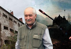 Chvíle, ve kterých šlo do tuhého, zažil v jugoslávské válce Josef Skalka. V botanické zahradě v Troji coby zástupce novodobých válečných veteránů vysadil lípu malolistou.