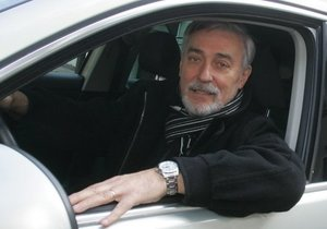 Jan Rosák za volantem