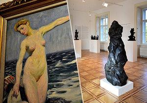 Museum Kampa zve na pozoruhodnou prohlídku děl dvou velikánů světového umění českého původu - Františka Kupky a Otto Gutfreunda.