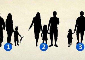 Na kterém z obrázů NENÍ rodina?