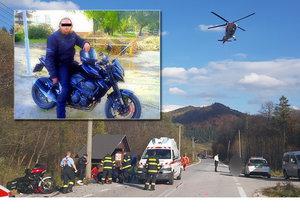Vášnivý motorkář Miňa zemřel před očima svého kamaráda: Na silnici se střetl s jinou motorkou