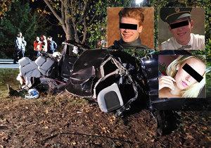 Michal (†22) zavinil nehodu u Zlonína: Jeho přítelkyně furt bojuje o život!