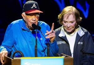 Exprezident USA Jimmy Carter (95) musel zpátky do nemocnice