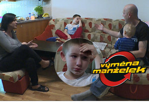Výměna manželek plná dětských slz: Syn se zoufale bojí táty! A zase jde o prachy