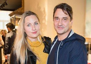 Saša Rašilov s manželkou Lídou