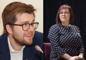 Jakub Michálek a Jana Koláříková jsou kolegy v Pirátské straně.