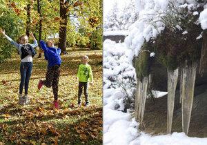 Česko čeká šokující teplotní otočka. Z letních teplot se dostaneme do sněhu.