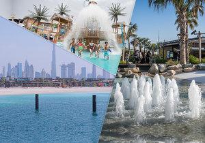 Nejvíc cool rodinná zábava v Dubaji má značku La Mer! Nová pláž přitahuje tisíce lidí