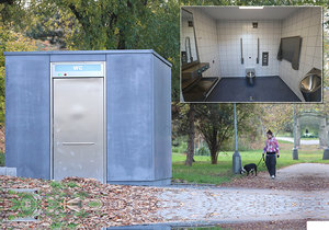 Praha 6 zaplatila za veřejný záchod přes 3,5 milionu korun. Za tu cenu by koupila i byt.