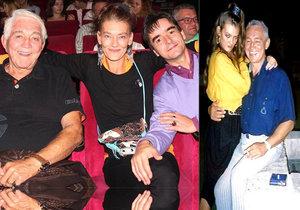 Krampol s Kvasničkovou randil, když jí bylo 17 let.
