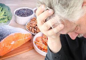 Proti depresi může pomoci i strava (ilustrační foto)