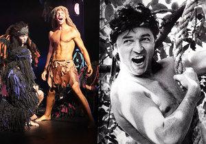 Karel Gott chtěl hrát Tarzana.