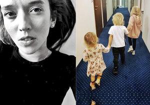 Děti Tamary Klusové se už evidentně cítí mnohem lépe.