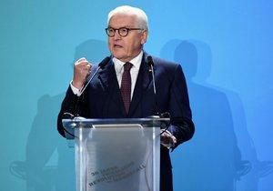 Steinmeier: V Německu od pádu berlínské zdi vyrostly další (9. 11. 2019)