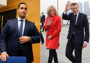 """Macronův """"exmilenec"""" vydal očekávanou knihu. Popsal tajné schůzky v kině"""