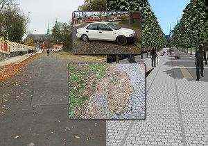 Ostudná ulice u Pražského hradu se nebude opravovat. Magistrát má jiné priority.