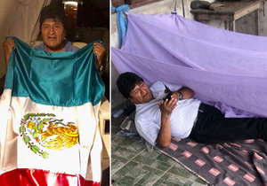 Bolivijský prezident Evro Morales rezignoval a uprchl do mexického azylu