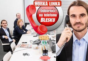 Odborníci na telefonu Blesku odpověděli na desítky telefonátů.