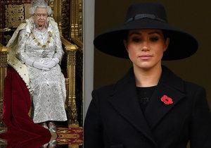 Meghan Markleová a královna Alžběta II.
