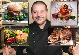 Paraguayec Diego Joubert se v Šeberově věnuje přípravě autentických latinskoamerických jídel. Povětšinou se jedná o masité pokrmy, protože gril si prý doma dopřávají až pětkrát týdně.